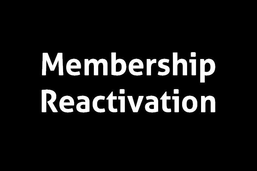 Membership Reactivation